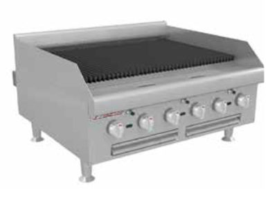 Radiant Gas Charbroiler HDC-12