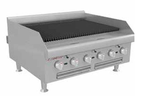 Radiant Gas Charbroiler HDC-36