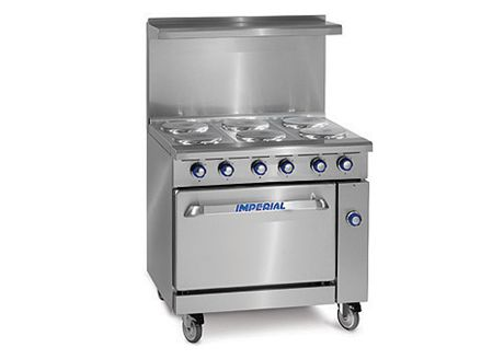 Electric Restaurant Ranges IR-6-E