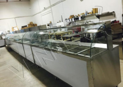 Hot or Cold Curved Glass Display – Vendexx St-Laurent Montreal