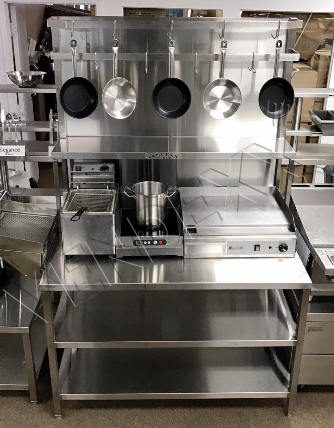 Station culinaire – Vendexx St-Laurent Montréal