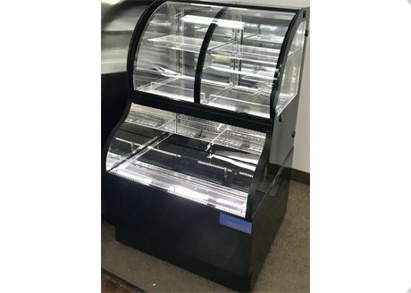 Refrigerated Double Service Display VDS36